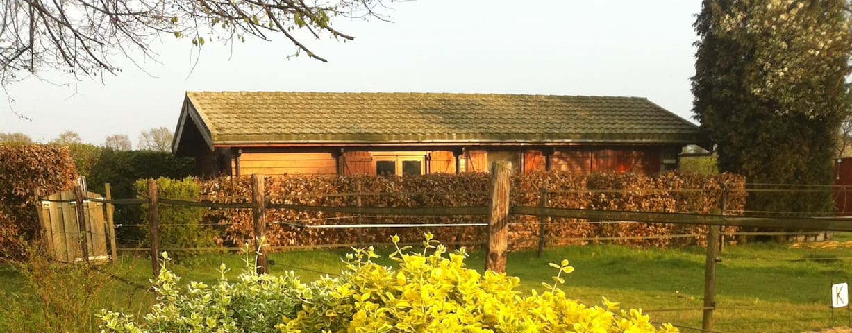 Wooden Chalet next to Nature Reserve