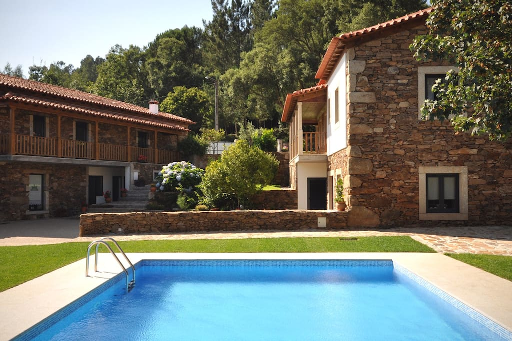 Country House for rent, on the left. 11mx5m Pool
