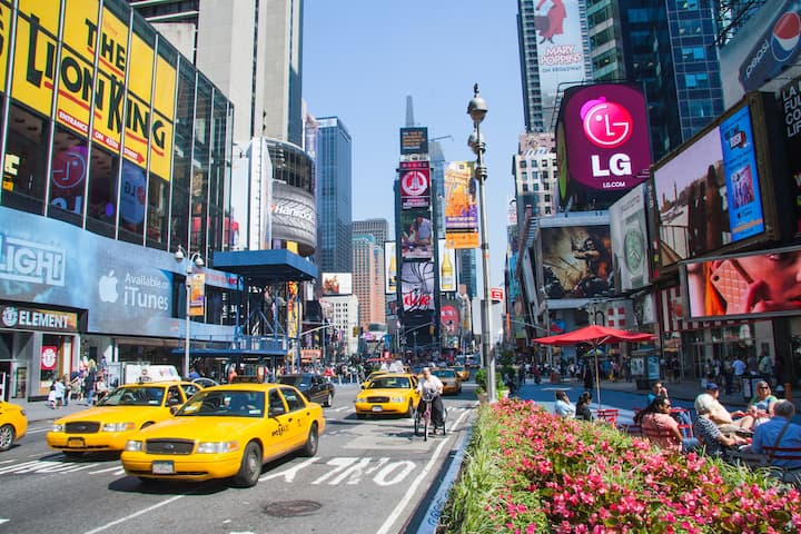 Explore NYC-Times Square, Restaurant, Shows & More