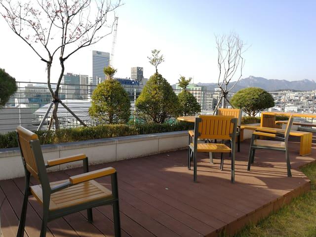 首尔东大门酒店式自助公寓