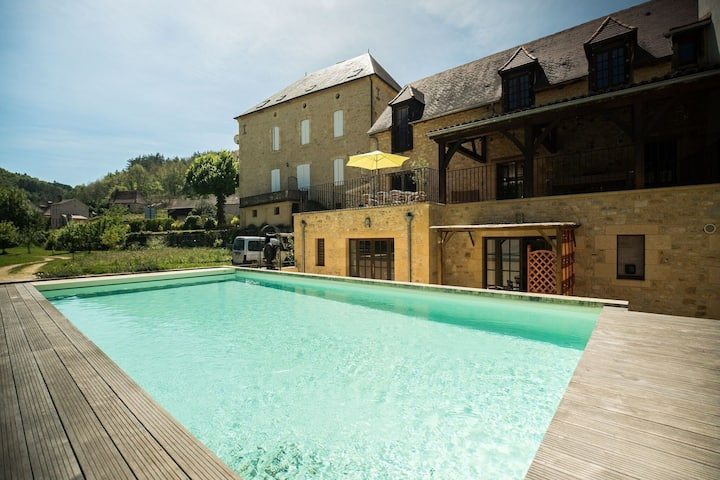 Splendide Maison le Thé Vert avec piscine privative