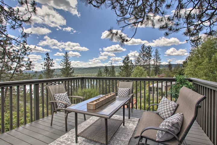 NEW! Cozy Nine Mile Falls Apt. w/ Long Lake Views!