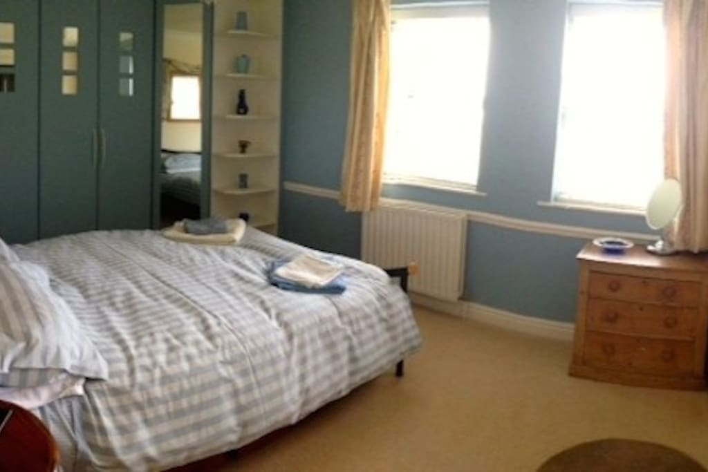 Double bedroom en-suite, countryside views.