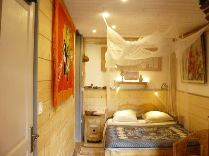 Chambre d'hôtes panoramique - Sauna - Terrasse