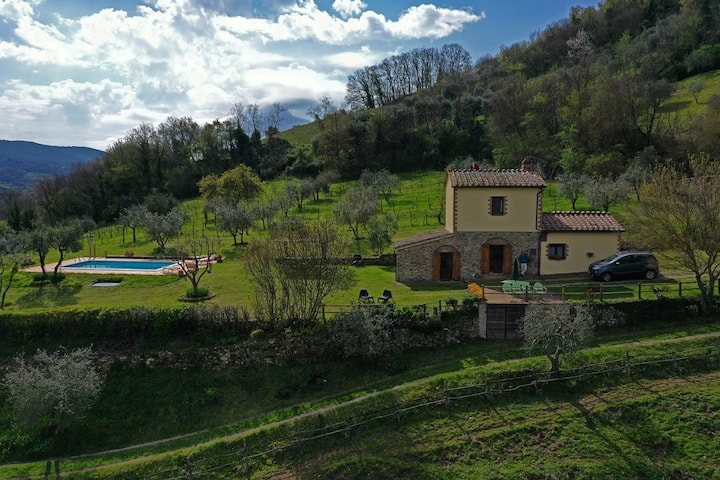 Villa San Regolino con piscina ad uso esclusivo