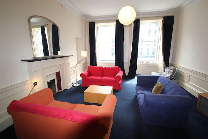 Large Georgian  flat with parking - Edinburgh - Flat