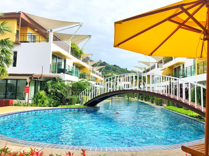 3BR AP Grand @ Kamala H speed wifi/pool/gym/sauna