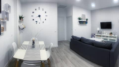 Loft amplio y moderno. Wifi. Cerca de Madrid.