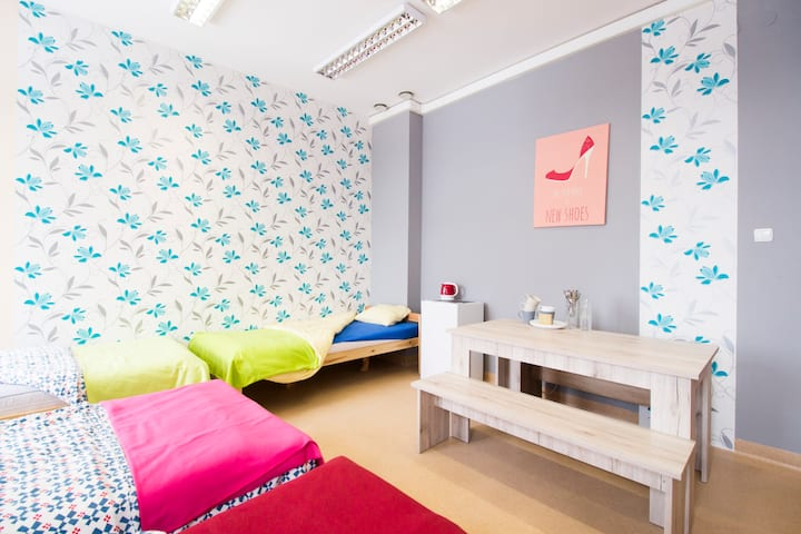 Room for 5 people 310 Wroclaw OLD TOWN