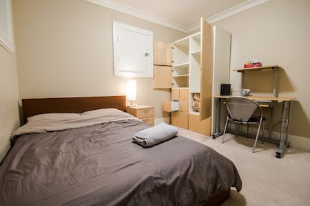 New House, Clean Room(#1), Loaded Private Kitchen! - Burnaby
