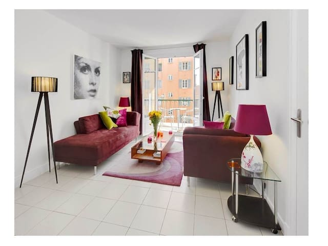 Superb Stylish Nice Port 2 Bedroom Apartment - Nizza - Wohnung