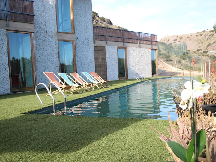 Fantastic Ecological Villa in the Colies of Zieschang for 12 people