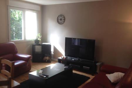 Chambre privée et lumineuse - Évreux - Kondominium