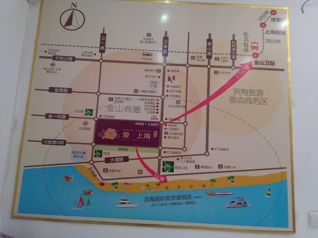 上海金山石化短租--适合出差、办公和旅游居住