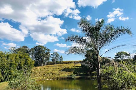 Sítio 4 lagos-Paz e tranquilidade-Pinhalzinho Sp