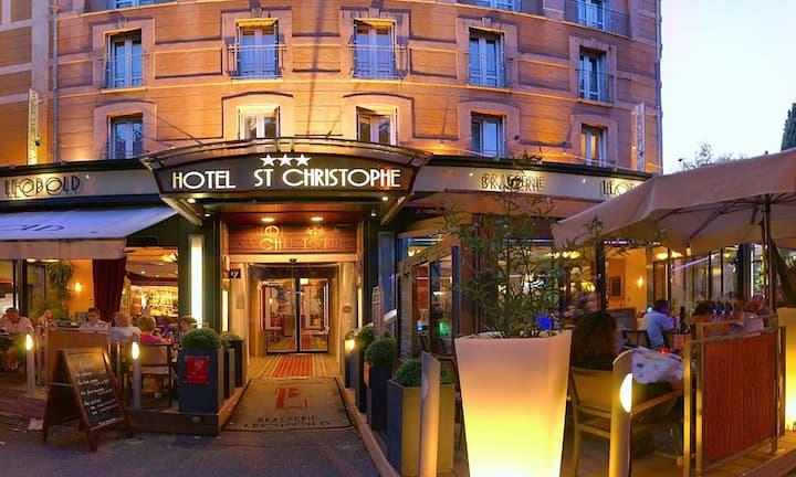 Hotel Saint Christophe, Chambre Luxe