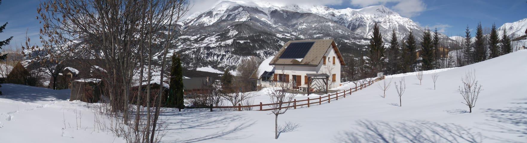 Chambre en montagne dans la nature - Faucon-de-Barcelonnette - House