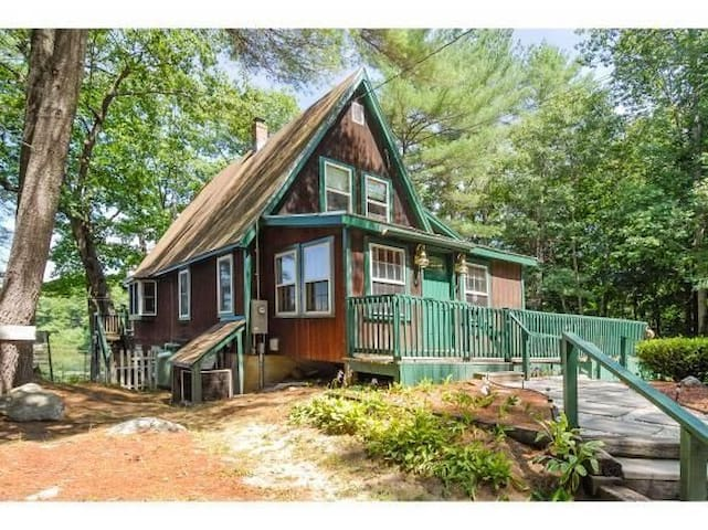 Private Crystal Lake Escape - Gilmanton - Casa