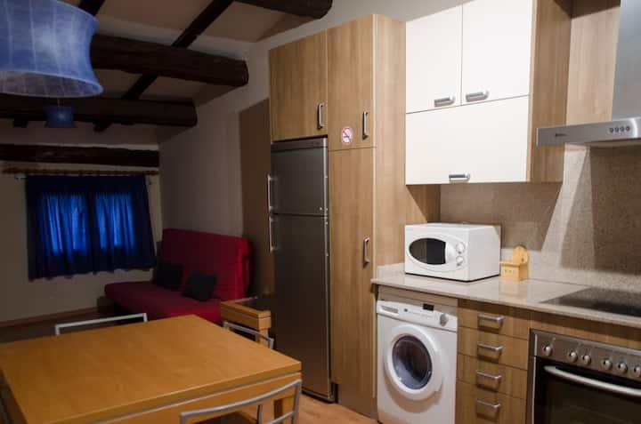 Apartaments el Jaç acollidor ideal per parelles.
