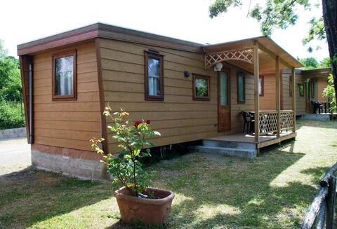 Casa móvel de dois quartos
