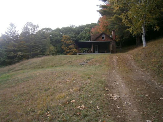 Rural, Mountain-side House.  Expansive Views.
