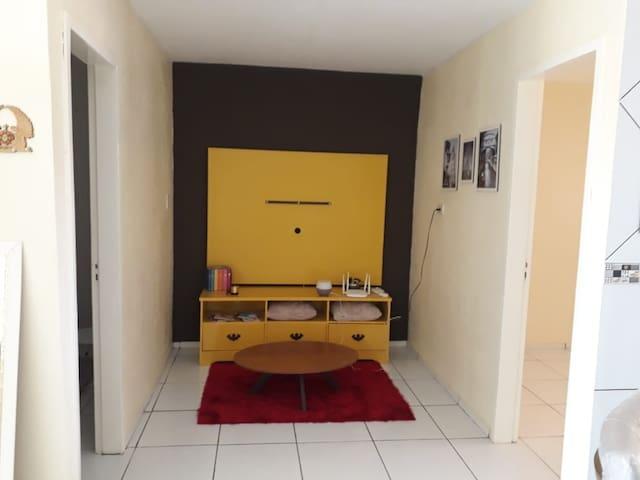 Área comum, parte da sala