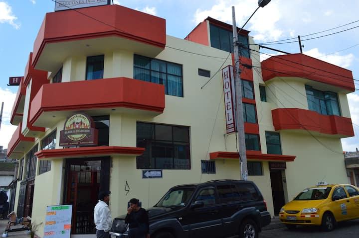 Balcones del Río Hotel -Latacunga - Ecuador