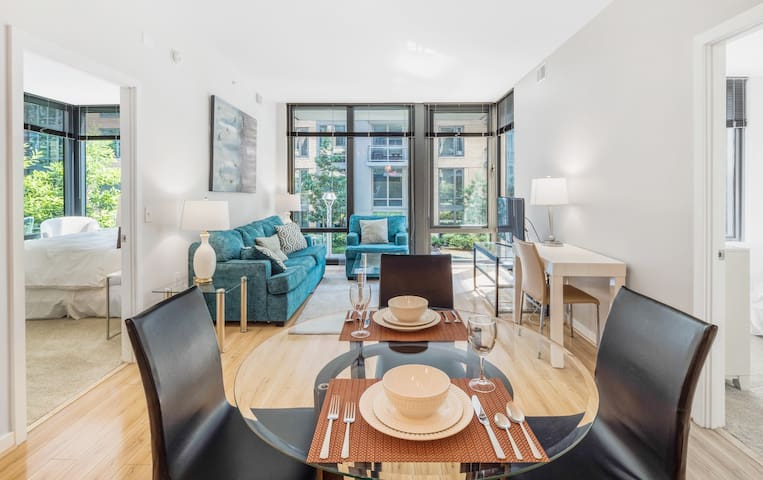 Detailed 2-BR next to Walter Reed Medical Center!