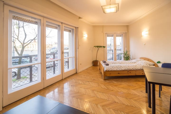 1BR HEROES SquareVIEW - SUCH WOW, VERY SIGHT - Budapest - Apartment