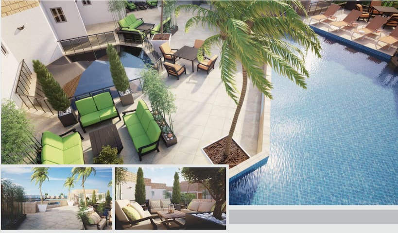 Entire Luxury Townhouse w/ Pool Lift Wifi BBQ Area