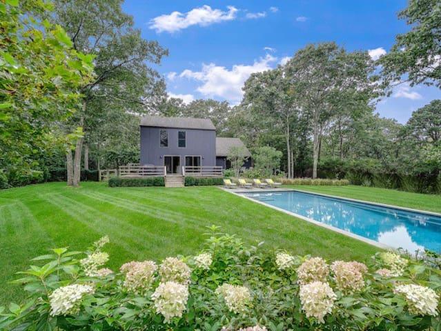 Renovated East Hampton 4 Bdrm Home w/ Custom Pool