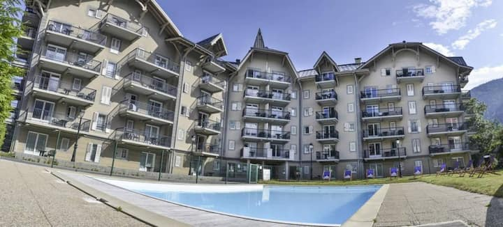 Appartement à 50 m du Bettex 6 pers