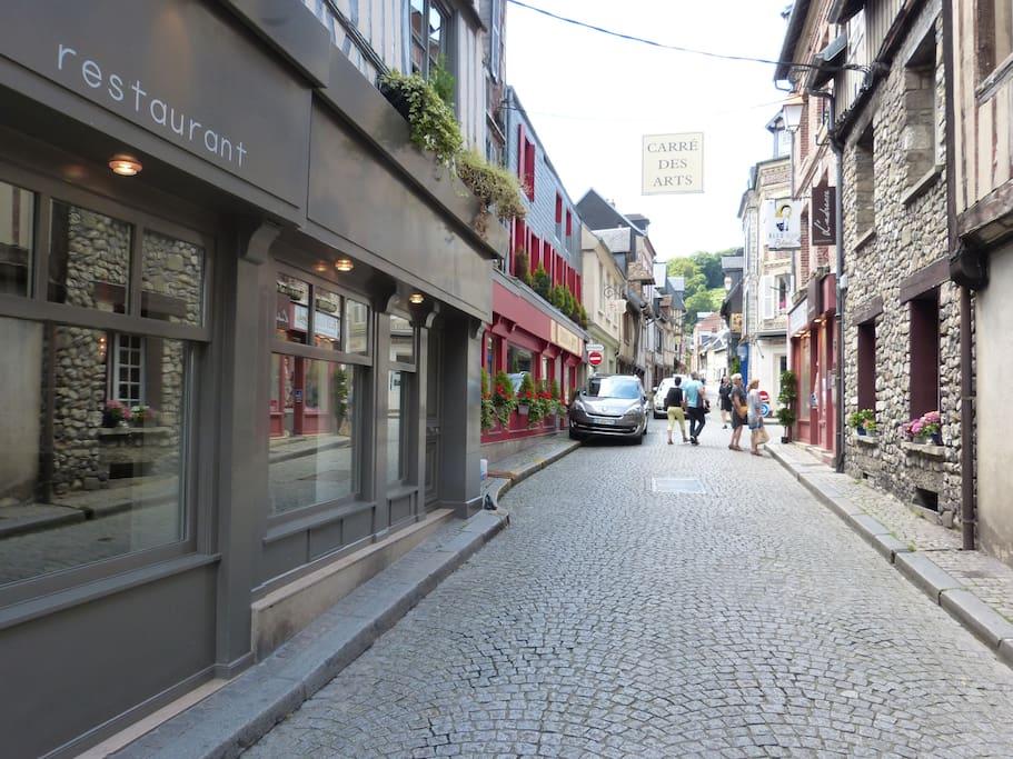 Le rue du puits