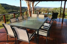 We have a number of options for dining at our home, inside or out