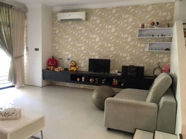 Fully furnished 2 story condominium - Kuching - Lyxvåning