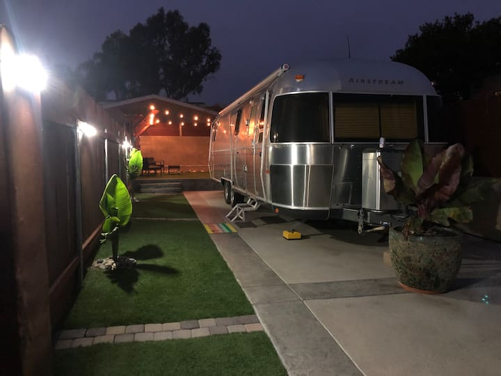 Secluded Airstream with Private Yard in Encinitas