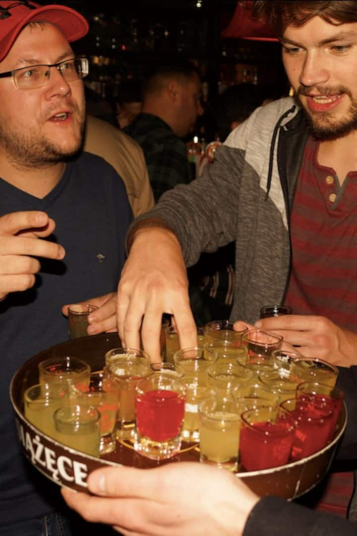 Free shots for everybody!