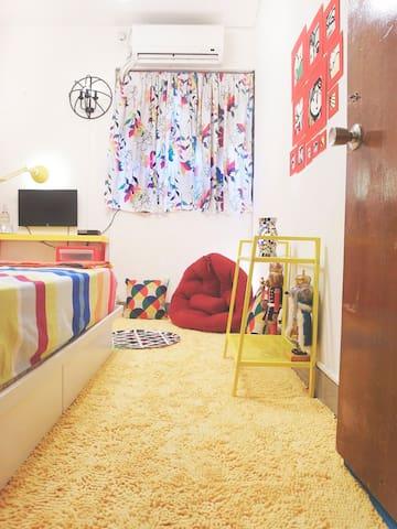 最好的房間,最低廉的價格!雙人床房型,單人入住也划算!依時節做不同風格調整