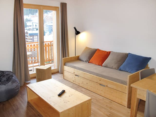 Apartment Résidence La Tzoumaz for 6 persons