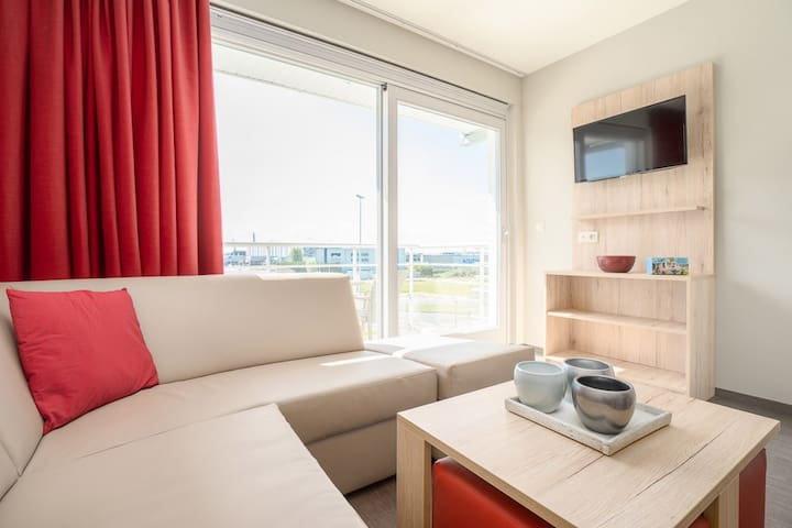 Holiday apartment near the Zeebrugge Harbour