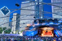 Millennium Park, Chicago is just 7 minutes away(1.0 mile) from the property!