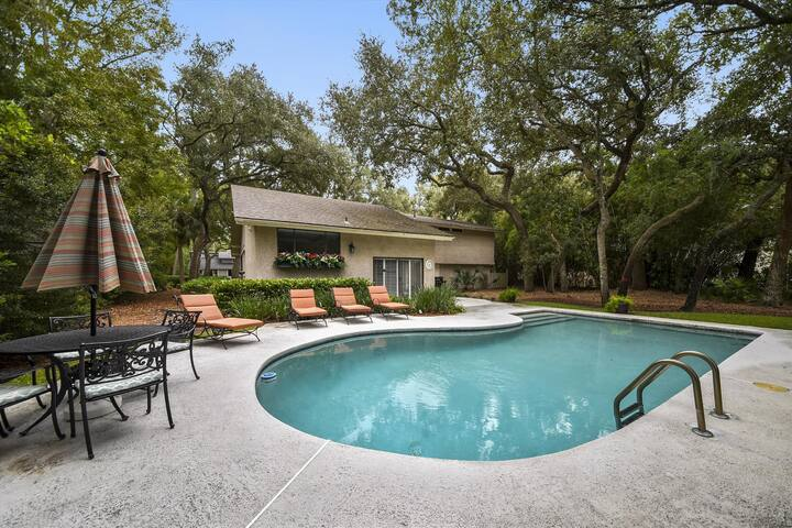 4 bedrooms, 3 bathrooms Hilton Head rental is located in the pristine Palmetto Dunes Plantation
