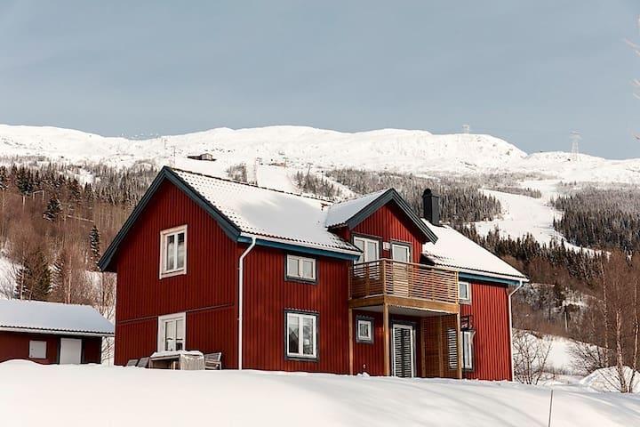Beautiful mountain/lake view villa - Åre
