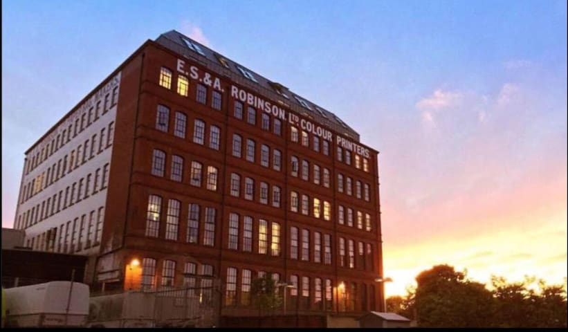 The Robinson Building, converted Victorian factory