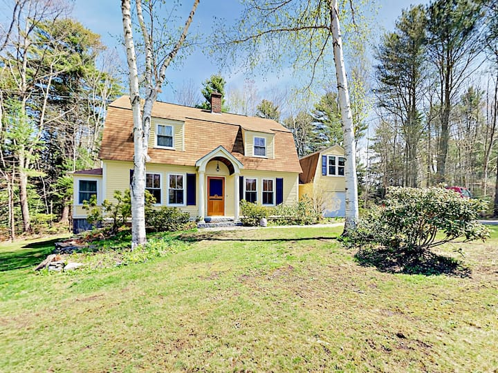 Storybook Gambrel Home on Half Acre with Fireplace
