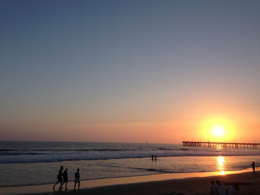 Steps away from the best beach in LA!
