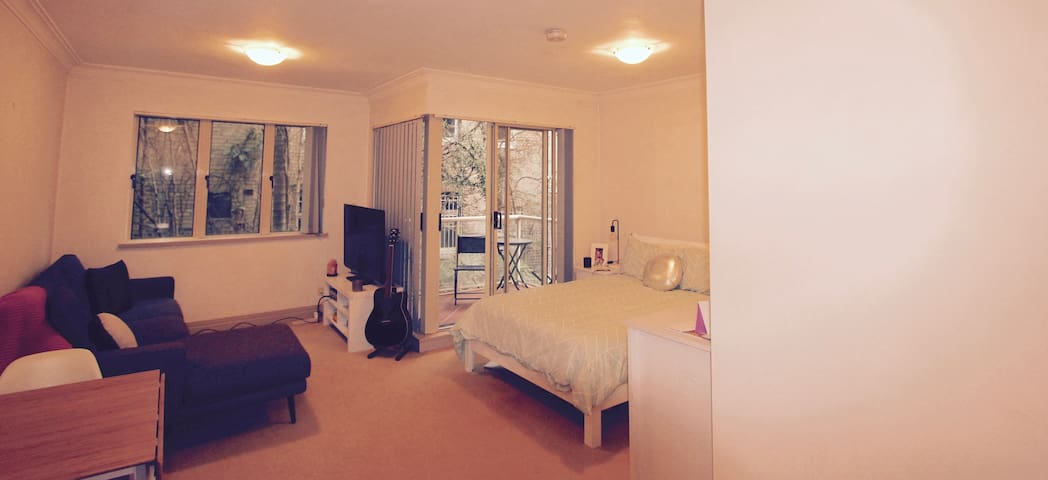 Spacious studio in the perfect location - Potts Point - Wohnung