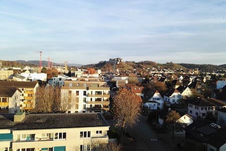 Nice room with two single beds - Lenzburg - 公寓