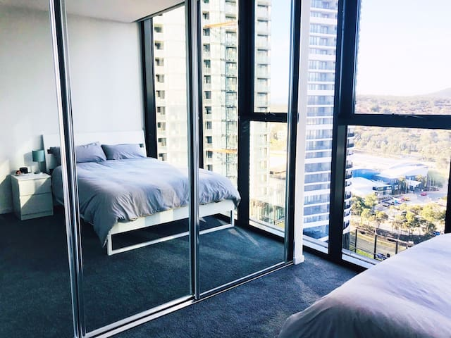 Penthouse panoramic apartment room