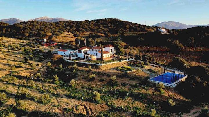 Santa Marta Casa rural con pista de padel